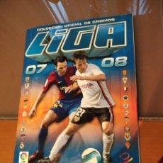 Álbum de fútbol completo: ALBUM COMPLETO CON LA COLECCIÓN COMPLETA LIGA ESTE 07 08 2007 2008. BAJAS COLOCAS FICHAJES.. Lote 212929245