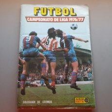 Álbum de fútbol completo: ALBUM COMPLETO TODO EDITADO LIGA ESTE 76 77 1976 1977. Lote 213539985