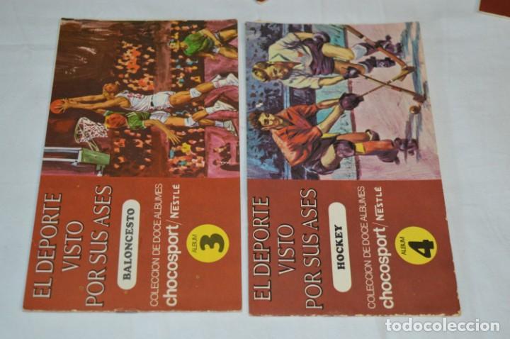 Álbum de fútbol completo: Nestlé -- EL DEPORTE VISTO POR SUS ASES -- Lote 7 primeros álbumes / todos COMPLETOS ¡Mira fotos! - Foto 3 - 214086970