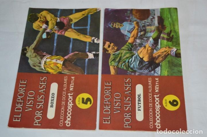 Álbum de fútbol completo: Nestlé -- EL DEPORTE VISTO POR SUS ASES -- Lote 7 primeros álbumes / todos COMPLETOS ¡Mira fotos! - Foto 4 - 214086970