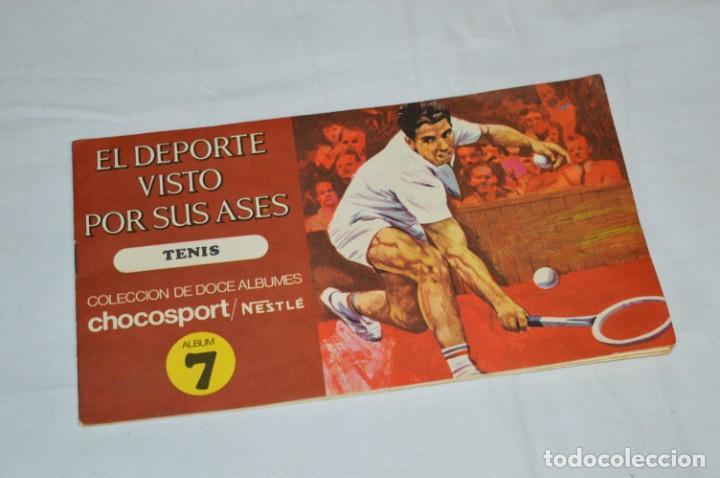Álbum de fútbol completo: Nestlé -- EL DEPORTE VISTO POR SUS ASES -- Lote 7 primeros álbumes / todos COMPLETOS ¡Mira fotos! - Foto 5 - 214086970