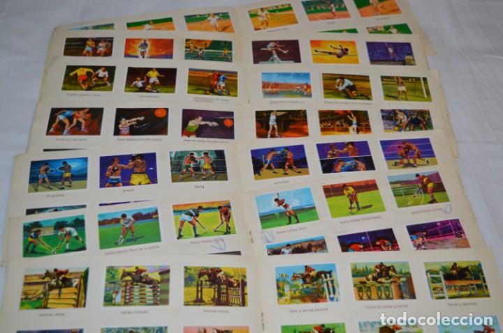 Álbum de fútbol completo: Nestlé -- EL DEPORTE VISTO POR SUS ASES -- Lote 7 primeros álbumes / todos COMPLETOS ¡Mira fotos! - Foto 6 - 214086970