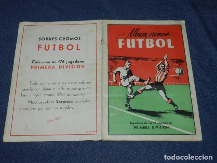 ALBUM CROMOS FUTBOL TEMPORADA 1953 - 54 , EDT ARGA 1953 , COMPLETO !!! POCAS SEÑALES DE USO (Coleccionismo Deportivo - Álbumes y Cromos de Deportes - Álbumes de Fútbol Completos)