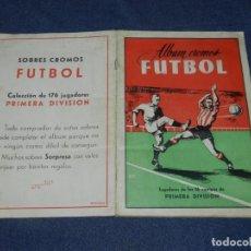 Álbum de fútbol completo: ALBUM CROMOS FUTBOL TEMPORADA 1953 - 54 , EDT ARGA 1953 , COMPLETO !!! POCAS SEÑALES DE USO. Lote 214354258