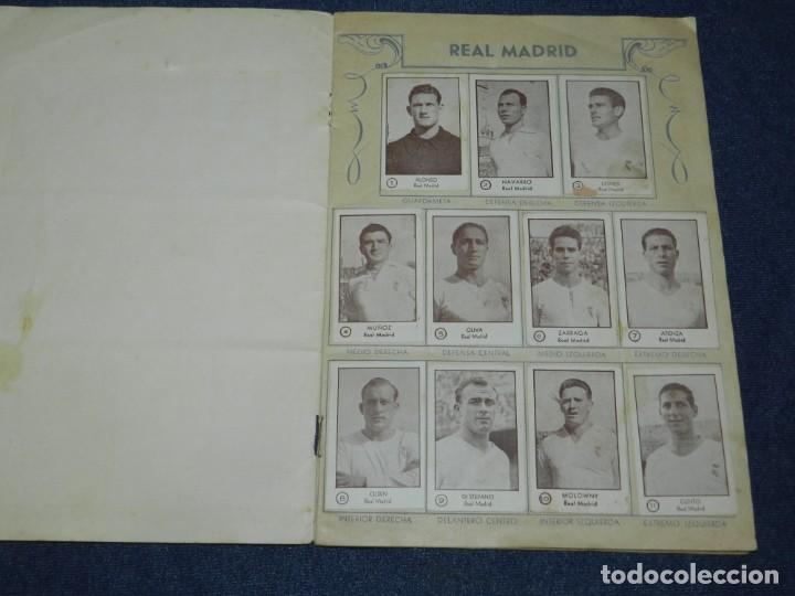 Álbum de fútbol completo: ALBUM CROMOS FUTBOL TEMPORADA 1953 - 54 , EDT ARGA 1953 , COMPLETO !!! POCAS SEÑALES DE USO - Foto 2 - 214354258