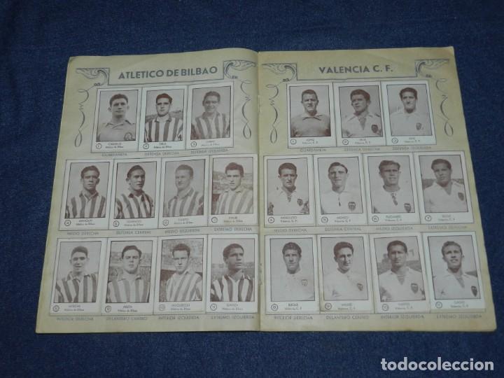Álbum de fútbol completo: ALBUM CROMOS FUTBOL TEMPORADA 1953 - 54 , EDT ARGA 1953 , COMPLETO !!! POCAS SEÑALES DE USO - Foto 4 - 214354258