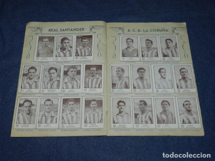 Álbum de fútbol completo: ALBUM CROMOS FUTBOL TEMPORADA 1953 - 54 , EDT ARGA 1953 , COMPLETO !!! POCAS SEÑALES DE USO - Foto 7 - 214354258