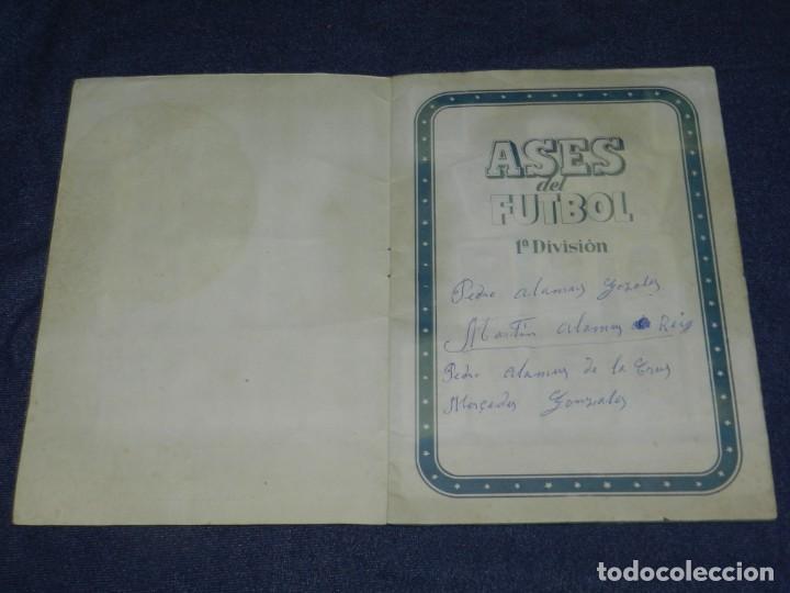 Álbum de fútbol completo: ALBUM ASES DEL FUTBOL 1 DIVISION CROMOS AS SERIE C COMPLETO !!!! EDT BRUGUERA 1944 - Foto 2 - 214354446