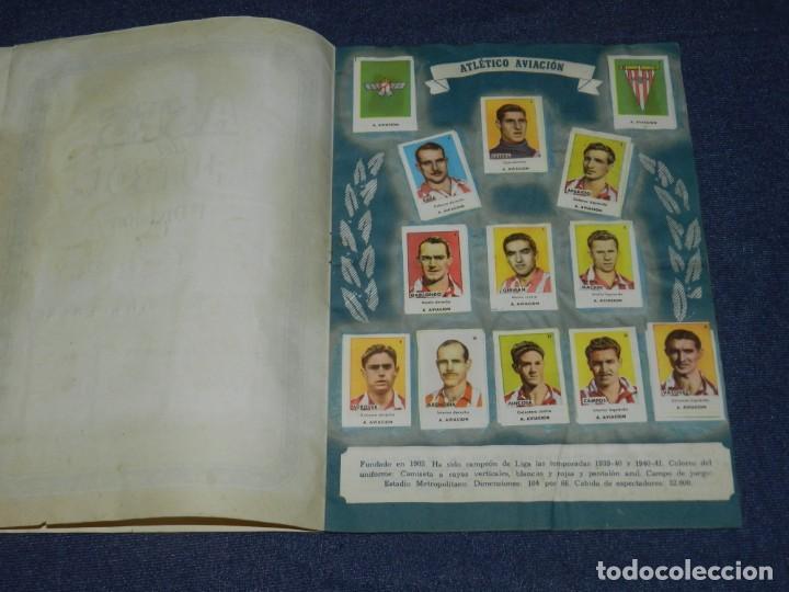 Álbum de fútbol completo: ALBUM ASES DEL FUTBOL 1 DIVISION CROMOS AS SERIE C COMPLETO !!!! EDT BRUGUERA 1944 - Foto 3 - 214354446