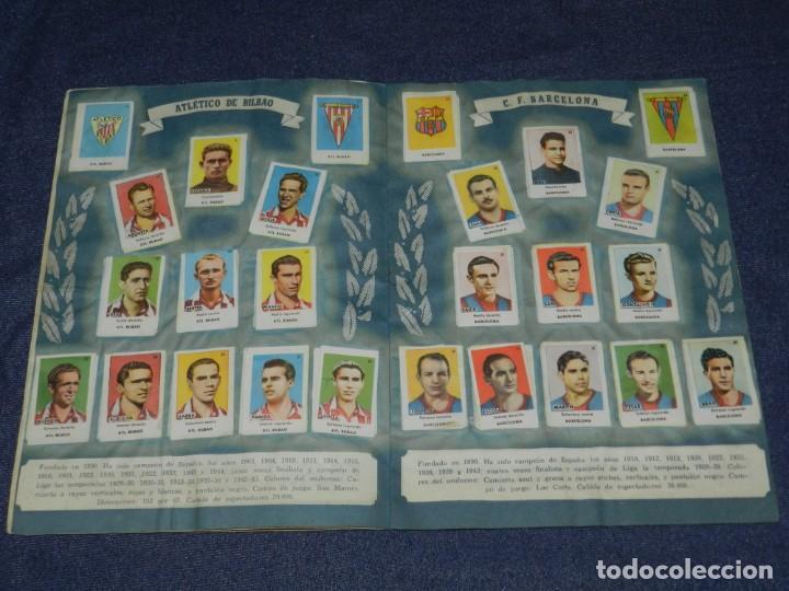 Álbum de fútbol completo: ALBUM ASES DEL FUTBOL 1 DIVISION CROMOS AS SERIE C COMPLETO !!!! EDT BRUGUERA 1944 - Foto 4 - 214354446