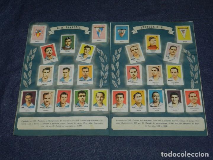 Álbum de fútbol completo: ALBUM ASES DEL FUTBOL 1 DIVISION CROMOS AS SERIE C COMPLETO !!!! EDT BRUGUERA 1944 - Foto 9 - 214354446