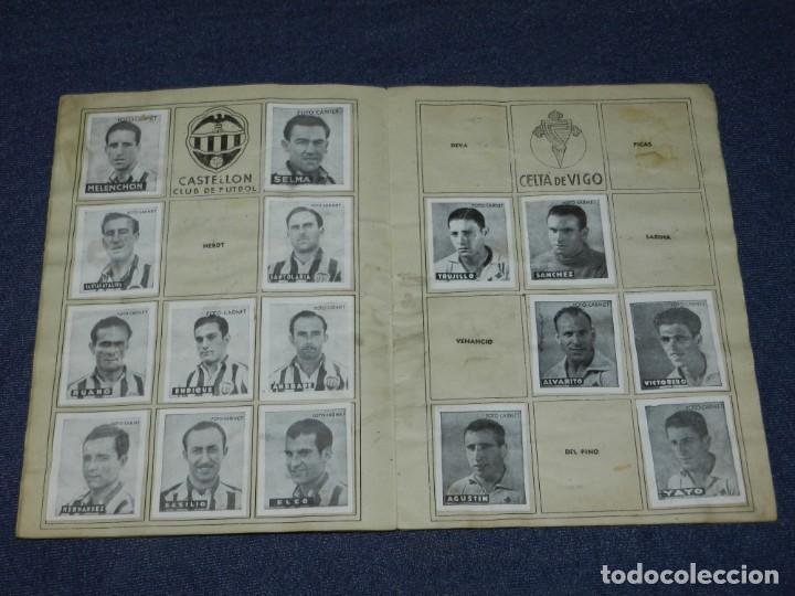 Álbum de fútbol completo: ALBUM LIBRETA DEPORTIVA , CISNE 1942, FALTAN 74 CROMOS, 1 DIVISION , SEÑALES DE USO - Foto 5 - 214354558