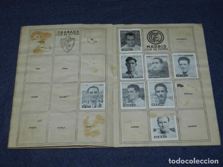 Álbum de fútbol completo: ALBUM LIBRETA DEPORTIVA , CISNE 1942, FALTAN 74 CROMOS, 1 DIVISION , SEÑALES DE USO - Foto 7 - 214354558