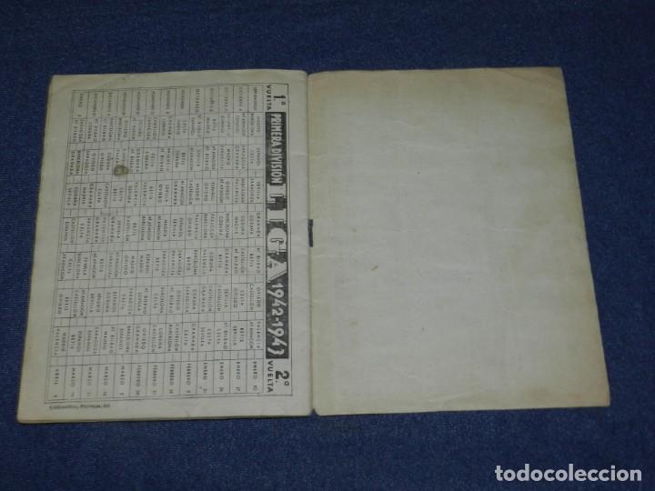 Álbum de fútbol completo: ALBUM LIBRETA DEPORTIVA , CISNE 1942, FALTAN 74 CROMOS, 1 DIVISION , SEÑALES DE USO - Foto 10 - 214354558