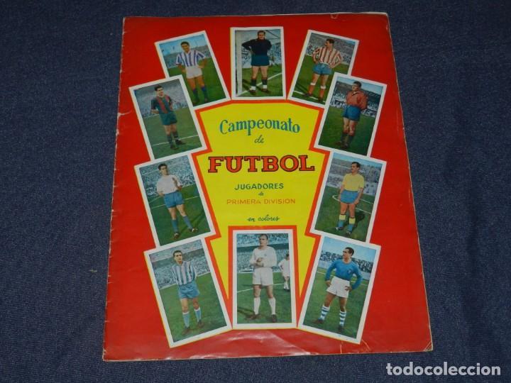 ALBUM CAMPEONATO DE FUTBOL JUGADORES DE PRIMERA DIVISION, GRAFICAS BACHENDE 1957 COMPLETO (Coleccionismo Deportivo - Álbumes y Cromos de Deportes - Álbumes de Fútbol Completos)