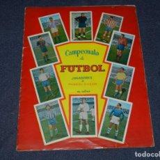 Álbum de fútbol completo: ALBUM CAMPEONATO DE FUTBOL JUGADORES DE PRIMERA DIVISION, GRAFICAS BACHENDE 1957 COMPLETO. Lote 214354671
