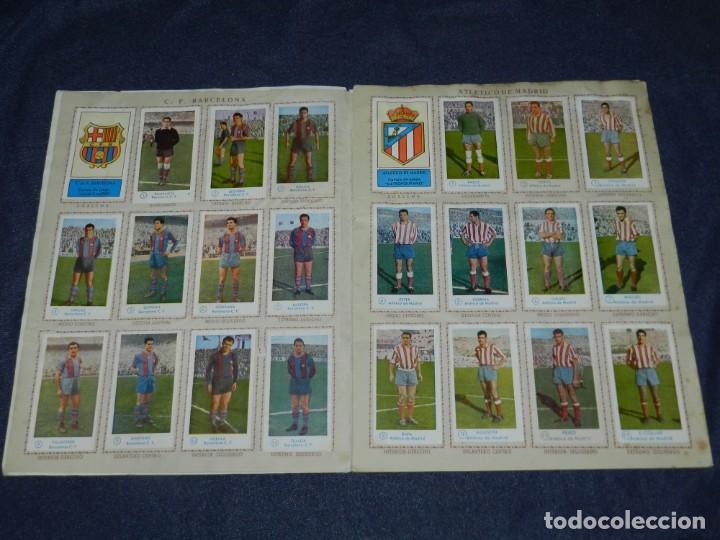 Álbum de fútbol completo: ALBUM CAMPEONATO DE FUTBOL JUGADORES DE PRIMERA DIVISION, GRAFICAS BACHENDE 1957 COMPLETO - Foto 3 - 214354671