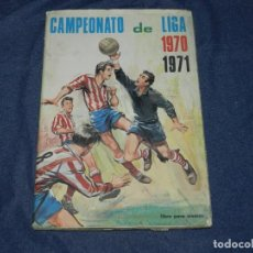 Álbum de fútbol completo: ALBUM CAMPEONATO DE LIGA 1970 - 71 , FHER 1970 , COMPLETO !!! SEÑALES DE USO. Lote 214418997