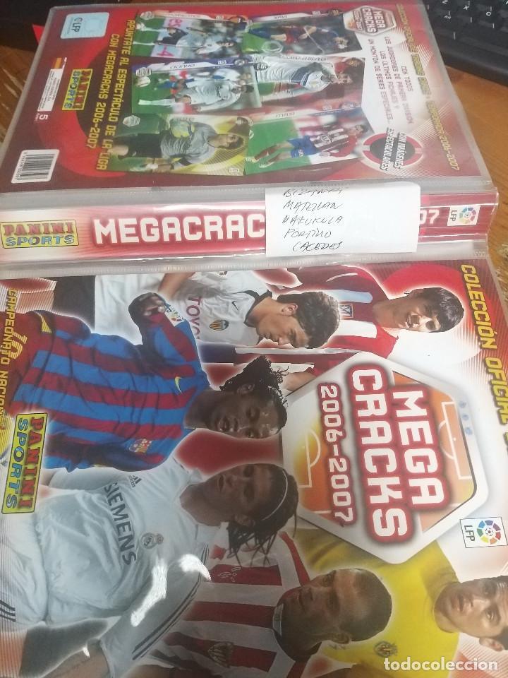 MEGACRACKS 2006/2007 COLECCION COMPLETA (Coleccionismo Deportivo - Álbumes y Cromos de Deportes - Álbumes de Fútbol Completos)