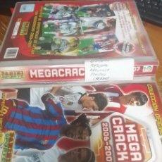 Álbum de fútbol completo: MEGACRACKS 2006/2007 COLECCION COMPLETA. Lote 215197321