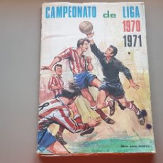 Álbum de fútbol completo: ALBUM COMPLETO LIGA FHER DISGRA 70 71 1970 1971 BUEN ESTADO. Lote 215286428