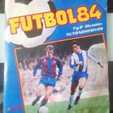 Album de football complet: ALBUM CROMOS FUTBOL 1984 PANINI PRIMERA Y 2ª DIVISION 84 AUTOADHESIVOS COMPLETO. Lote 215668358