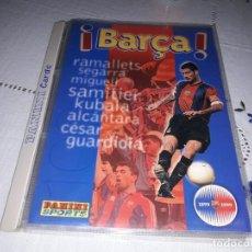 Álbum de fútbol completo: COLECCION COMPLETA 1899 1999 DE PANINI DEL BARCA. Lote 215819581