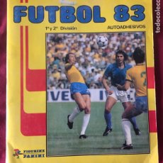 Álbum de fútbol completo: ALBUM CROMOS FUTBOL 83-PANINI-MUNDIAL ESPAÑA 1982-1983.COMPLETO.. Lote 215825361