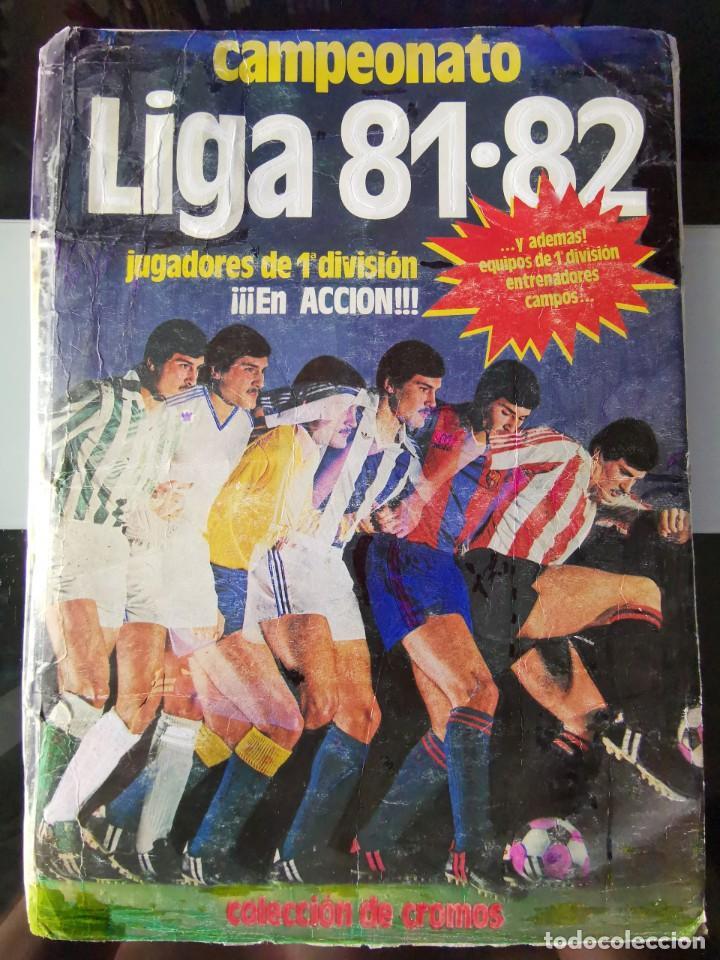 ALBUM CROMOS FUTBOL 1981 1982 LIGA ESTE 81 82 CON 392 CROMOS (Coleccionismo Deportivo - Álbumes y Cromos de Deportes - Álbumes de Fútbol Completos)