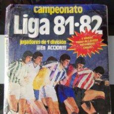 Álbum de fútbol completo: ALBUM CROMOS FUTBOL 1981 1982 LIGA ESTE 81 82 CON 392 CROMOS. Lote 216011267