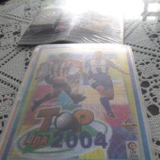 Álbum de fútbol completo: COLECCION TOP 2004 DE MUNDI CROMO COMPLETA. Lote 216353930