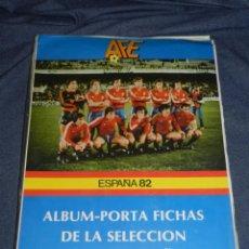 Álbum de fútbol completo: ALBUM ESPAÑA 82 ALBUM PORTA FICHAS DE LA SELECCION NACIONAL ESPAÑOLA 1982 , COMPLETO !!!!!. Lote 216549127