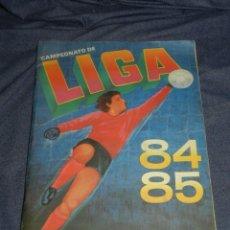 Álbum de fútbol completo: ALBUM CAMPEONATO LIGA 84 85 1 DIVISION , EDC CANO COMPLETO , 394 CROMOS, MUCHOS COLOCAS Y FICHAJES. Lote 216549506