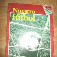 Álbum de fútbol completo: ALBUM FUTBOL ESTAMPAS CROMOS COMPLETO A FALTA DEL Nº 30 Y 78 LIGA 84-85 ALICANTE HERCULES ELCHE. Lote 216671096