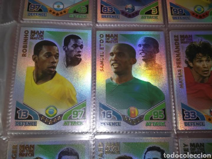 Álbum de fútbol completo: ALBUM TOPPS MATCH ATTAX ( SUDAFRICA 2010 ) ED INGLESA + LEYENDAS ( Messi, Cristiano, Maradona, Pelé - Foto 3 - 217083073