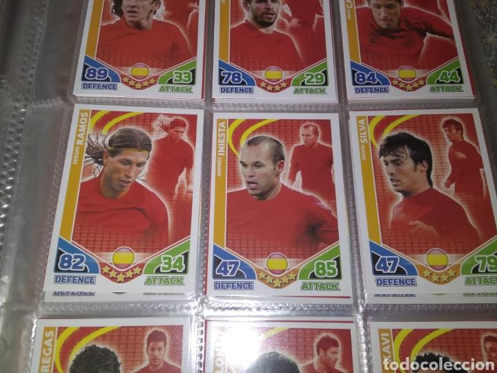 Álbum de fútbol completo: ALBUM TOPPS MATCH ATTAX ( SUDAFRICA 2010 ) ED INGLESA + LEYENDAS ( Messi, Cristiano, Maradona, Pelé - Foto 4 - 217083073
