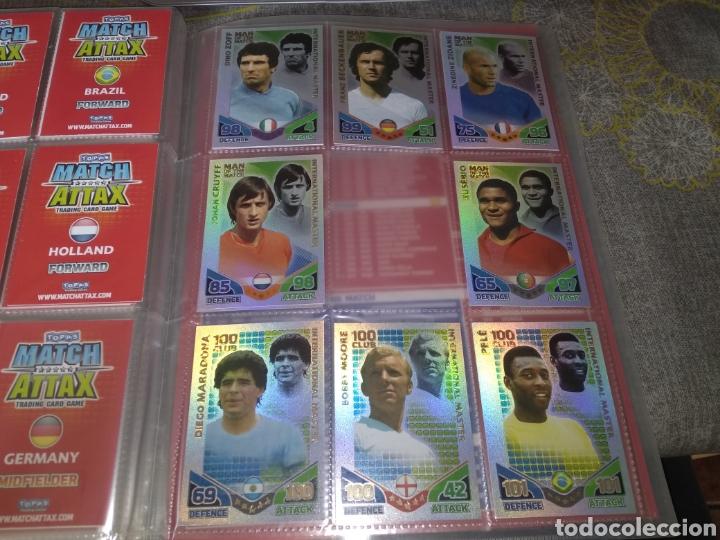 Álbum de fútbol completo: ALBUM TOPPS MATCH ATTAX ( SUDAFRICA 2010 ) ED INGLESA + LEYENDAS ( Messi, Cristiano, Maradona, Pelé - Foto 6 - 217083073