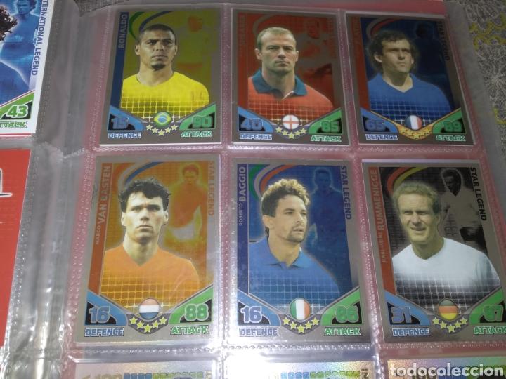 Álbum de fútbol completo: ALBUM TOPPS MATCH ATTAX ( SUDAFRICA 2010 ) ED INGLESA + LEYENDAS ( Messi, Cristiano, Maradona, Pelé - Foto 7 - 217083073