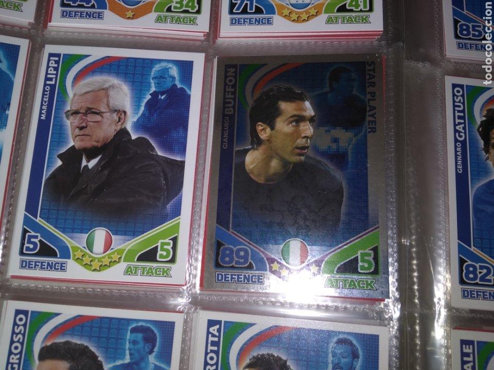 Álbum de fútbol completo: ALBUM TOPPS MATCH ATTAX ( SUDAFRICA 2010 ) ED INGLESA + LEYENDAS ( Messi, Cristiano, Maradona, Pelé - Foto 11 - 217083073