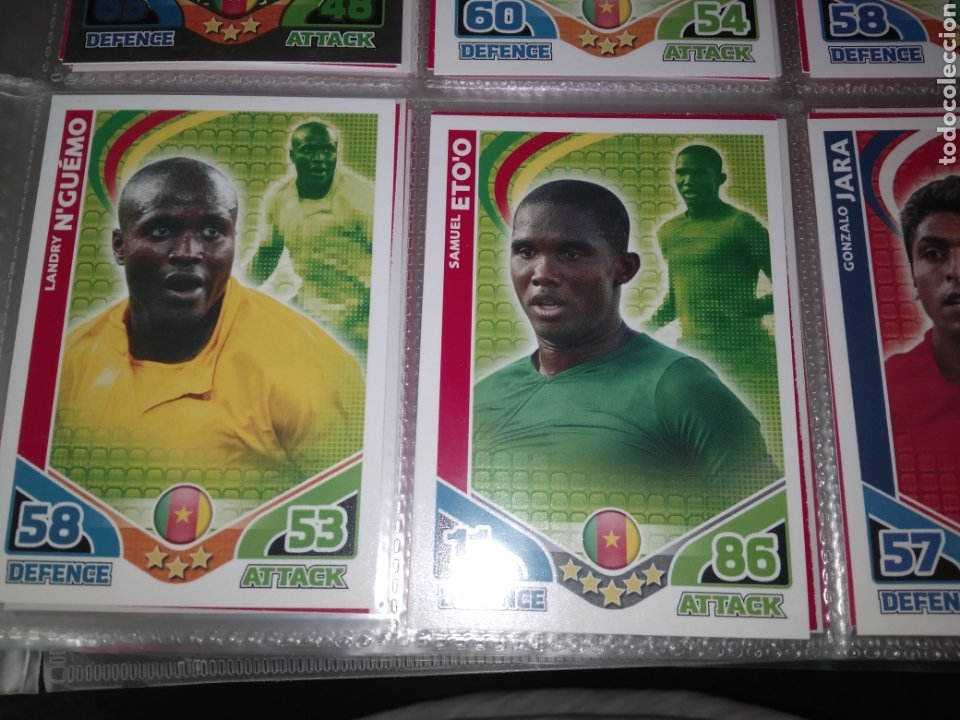 Álbum de fútbol completo: ALBUM TOPPS MATCH ATTAX ( SUDAFRICA 2010 ) ED INGLESA + LEYENDAS ( Messi, Cristiano, Maradona, Pelé - Foto 13 - 217083073