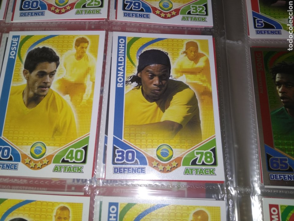 Álbum de fútbol completo: ALBUM TOPPS MATCH ATTAX ( SUDAFRICA 2010 ) ED INGLESA + LEYENDAS ( Messi, Cristiano, Maradona, Pelé - Foto 16 - 217083073