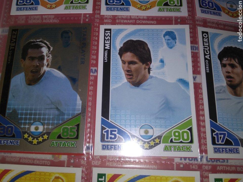 Álbum de fútbol completo: ALBUM TOPPS MATCH ATTAX ( SUDAFRICA 2010 ) ED INGLESA + LEYENDAS ( Messi, Cristiano, Maradona, Pelé - Foto 17 - 217083073