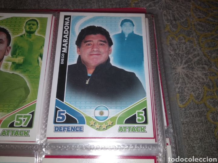 Álbum de fútbol completo: ALBUM TOPPS MATCH ATTAX ( SUDAFRICA 2010 ) ED INGLESA + LEYENDAS ( Messi, Cristiano, Maradona, Pelé - Foto 18 - 217083073