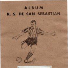 Álbum de fútbol completo: REAL SOCIEDAD 1941, EDITORIAL VALENCIANA,COMPLETO. Lote 217214987