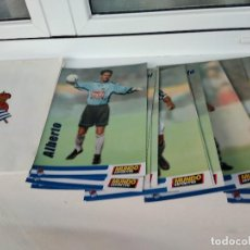Álbum de fútbol completo: 23 LAMINAS REAL SOCIEDAD DE FUTBOL SAN SEBASTIAN DONOSTI. Lote 217374798