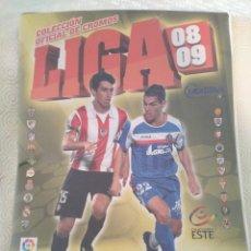 Álbum de fútbol completo: LIGA 08 09. COLECCION OFICIAL DE CROMOS. CAMPEONATO NACIONAL DE LIGA DE FUTBOL BBVA 200872009. PRIME. Lote 217513192