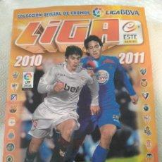 Álbum de fútbol completo: LIGA 2010 2011. COLECCION OFICIAL DE CROMOS LIGA BBVA DE FUTBOL. CAMPEONATO NACIONAL DE LIGA DE FITB. Lote 217513721