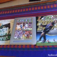 Álbum di calcio completo: ESTE LIGA 2003 2004 03 04 COMPLETO, LAS FICHAS DE LA LIGA 96 97 INCOMPLETO. REGALO REAL MADRID 94 95. Lote 217529138