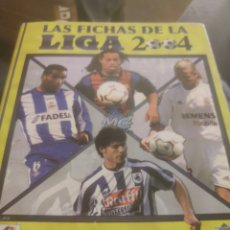 Álbum de fútbol completo: ALBUM FICHAS LIGA 2004 MUNDICROMO. Lote 217659153