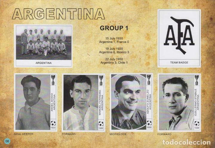 Álbum de fútbol completo: ALBUM CROMOS FACSIMIL FUTBOL FIFA WORLD CUP MUNDIAL URUGUAY 1930 COMPLETO Y NUEVO - Foto 2 - 226130340